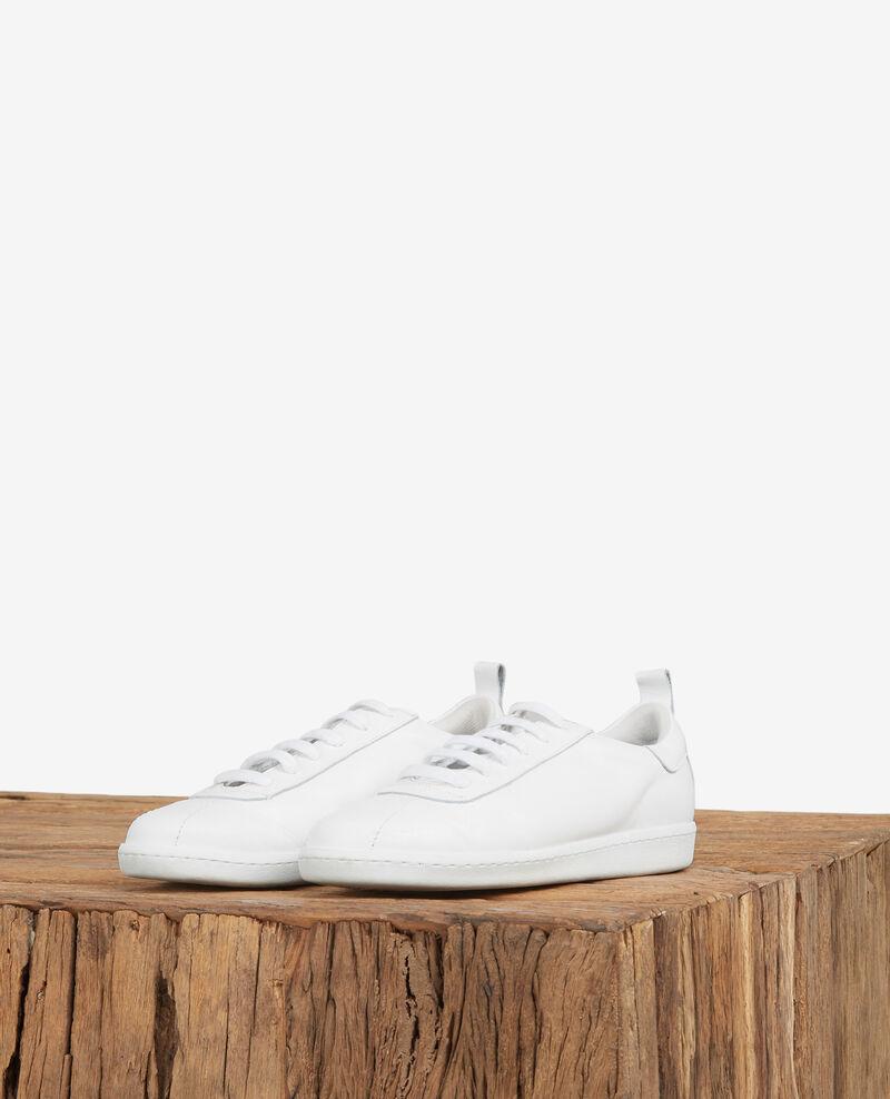 Sneakers aus Leder Off white Delaver