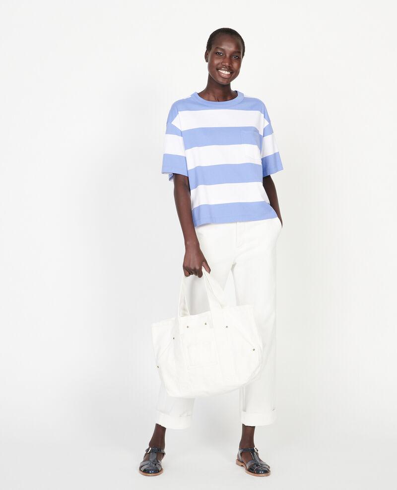 T-Shirt aus merzerisierter Baumwolle Str opticalwhite persianjewels Lord