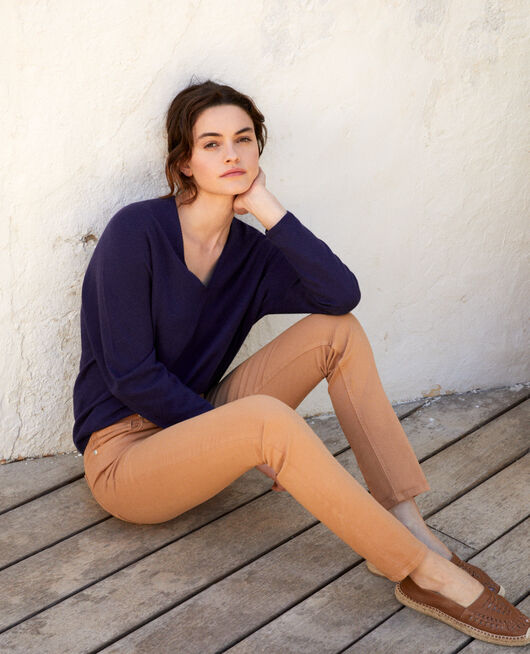 Slim-Jeans CARAMEL BEIGE