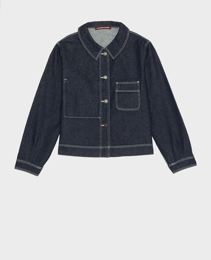 Jacke aus Denim Denim rinse Lalora