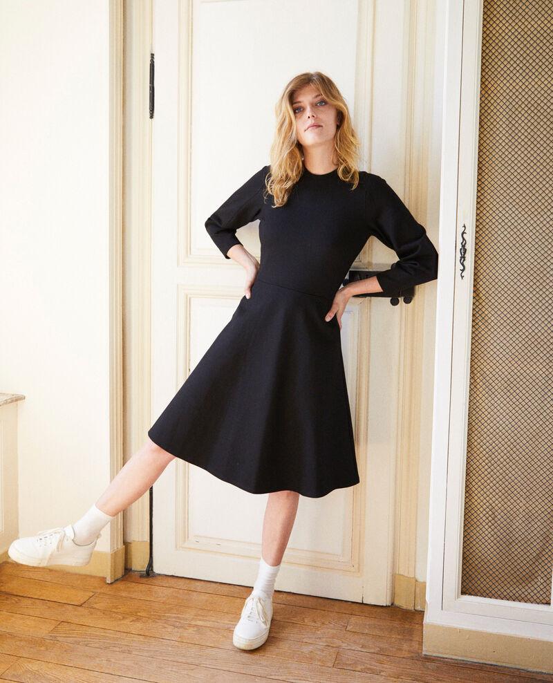 Ausgestelltes Kleid Noir Jastral