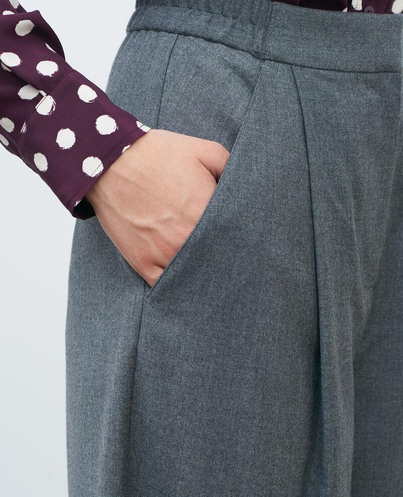 SYDONIE - BALLOON - Hose mit engem Bein Medium grey melange Paluges