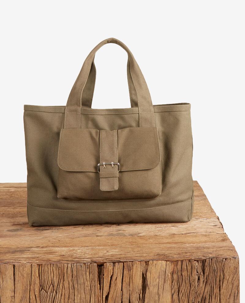 Shopping Bag Kaki Fanvas