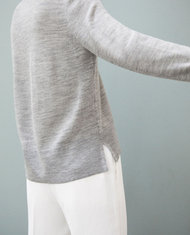 Pullover aus Wolle Gris Idile