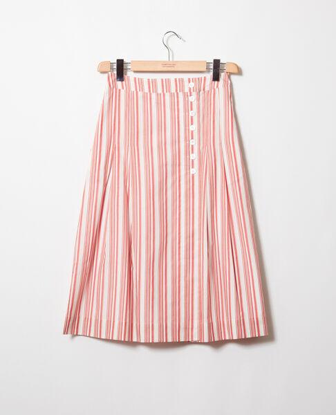 Comptoir des Cotonniers - jupe portefeuille en coton - 2