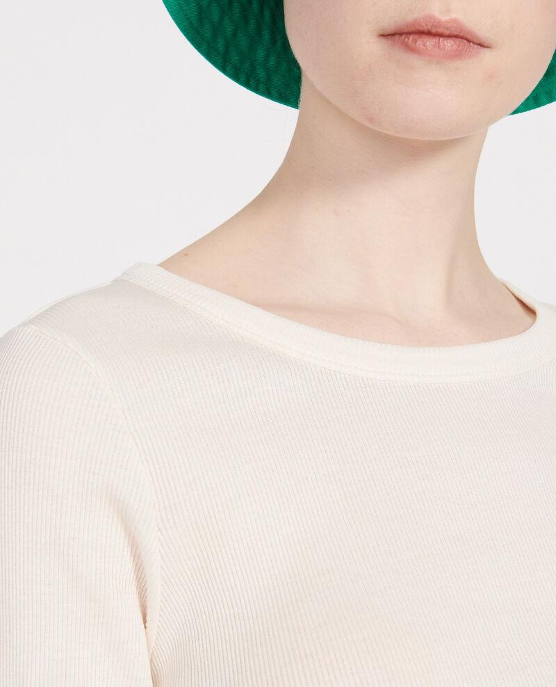 T-Shirt aus Baumwolle Buttercream Lasso
