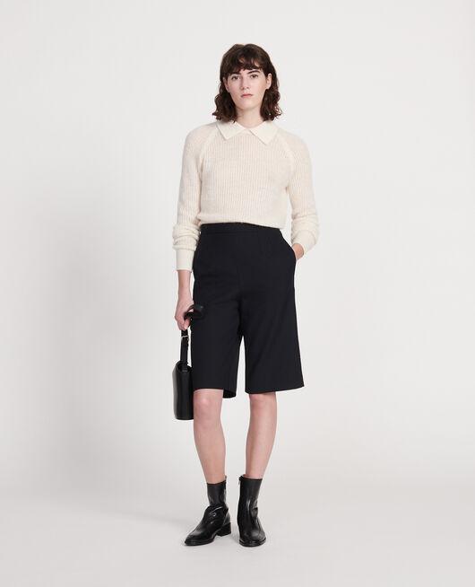 Pullover mit Alpaka BUTTERCREAM