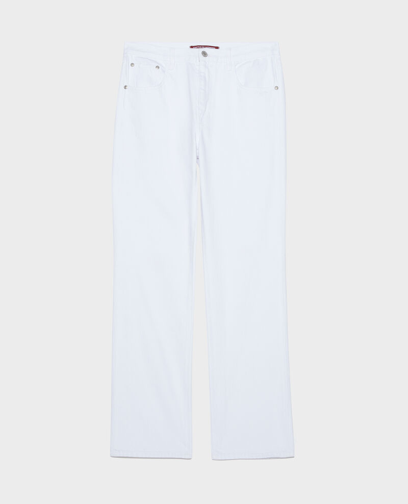 Gerade Jeans Optical white Linny