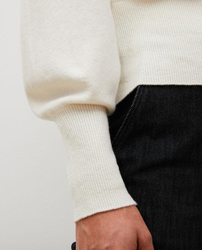 Feiner Pullover aus 3D-Kaschmir mit V-Ausschnitt vorne und hinten Jet stream Manona