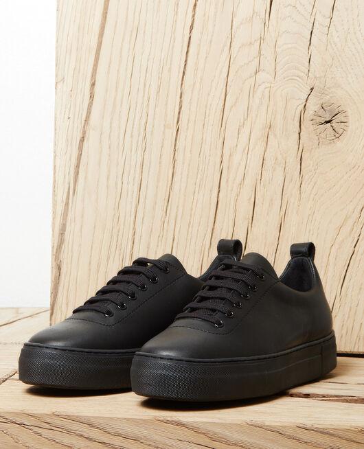 Plateau-Sneakers NOIR