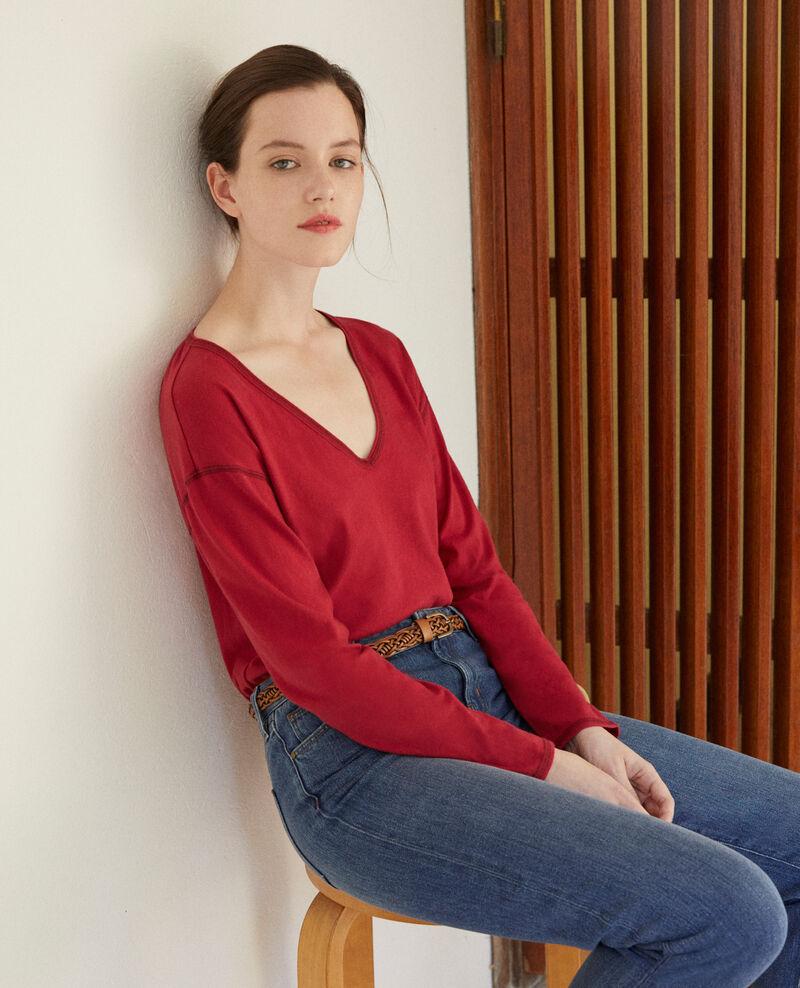T-Shirt aus Baumwolle Rio red Gonia