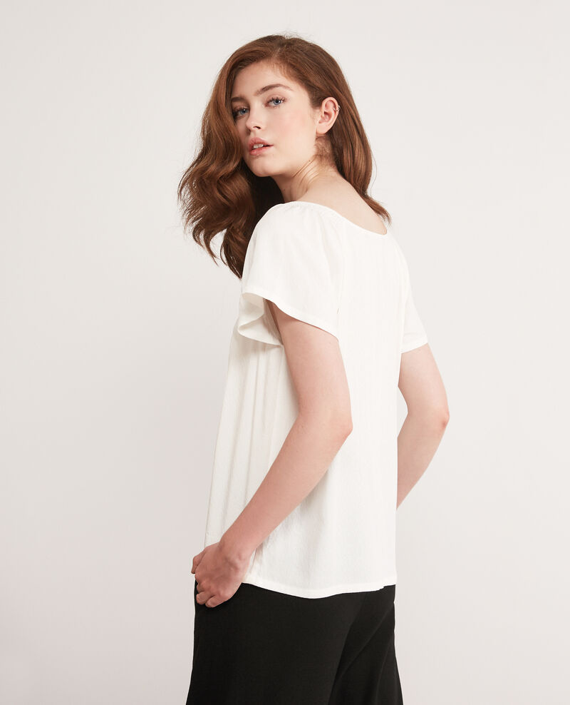 Fließende Bluse Off white Deal