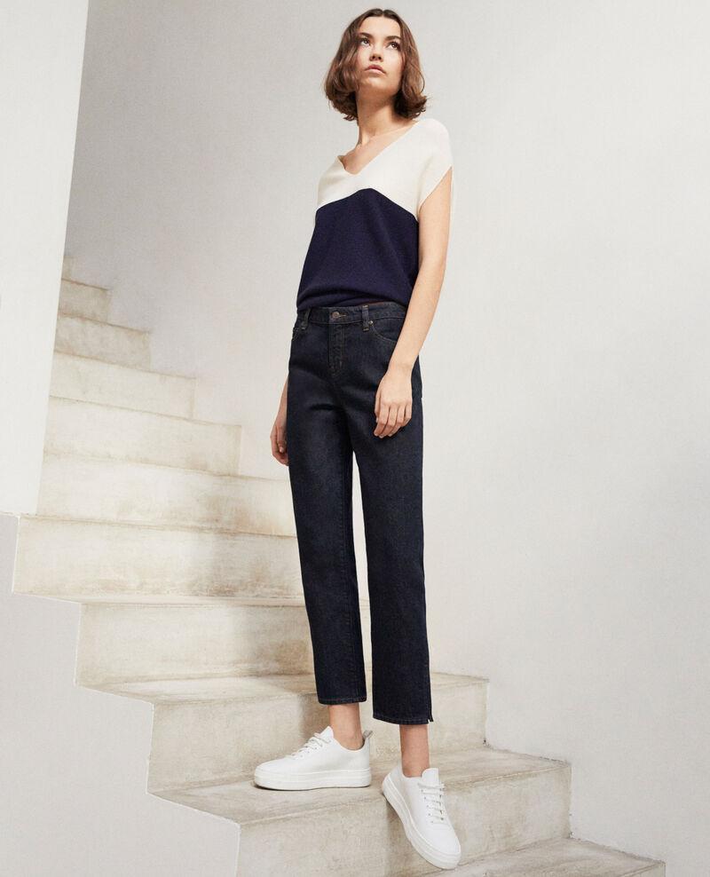 Straight-Jeans mit Schlitz Rinse Istra