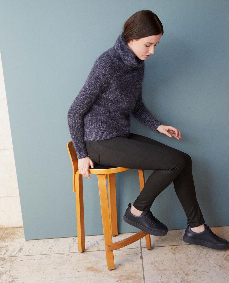 Regular Skinny-Jeans Schwarz Goated