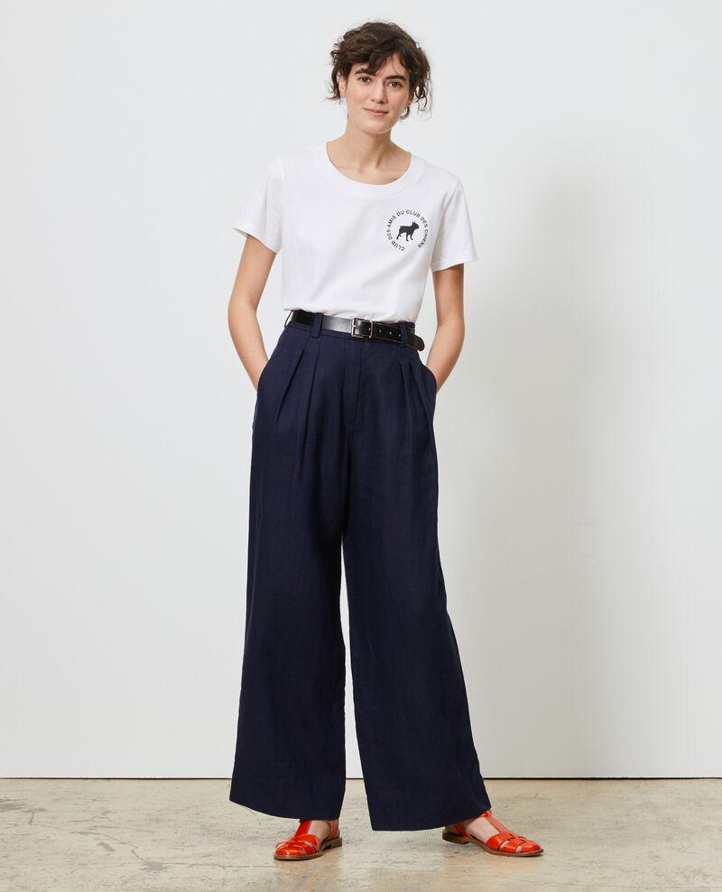T-Shirt aus Baumwolle Brilliant white Nyer