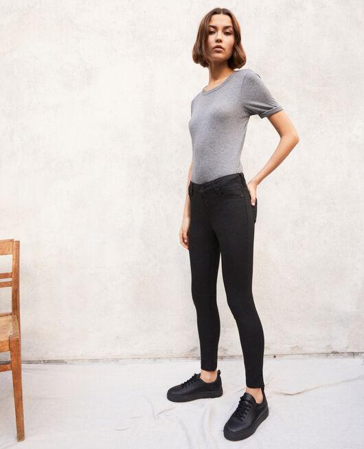 Regular Skinny-Jeans NOIR