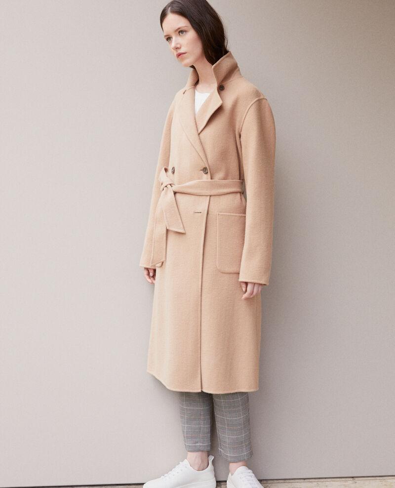 Doppelseitiger Mantel Tannin Gamin
