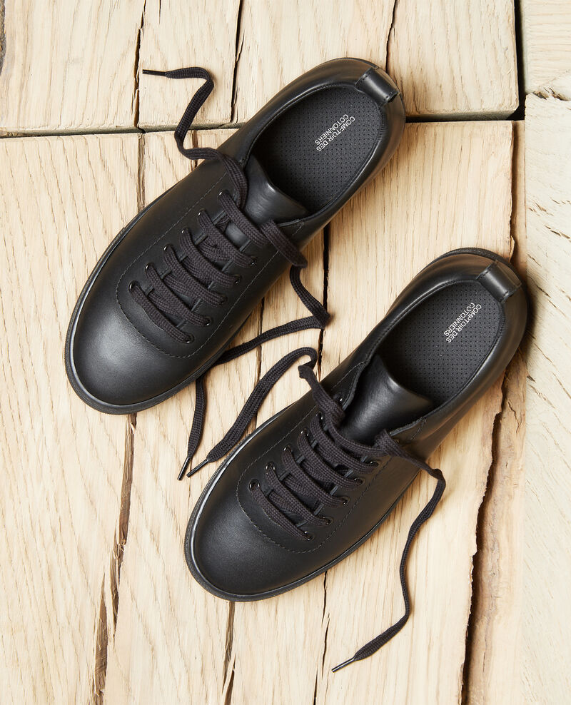 Plateau-Sneakers Noir Iginas