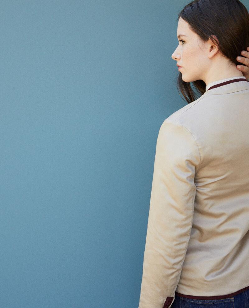 Beidseitig tragbare, kurze Jacke Decadente chocolate Godelieve