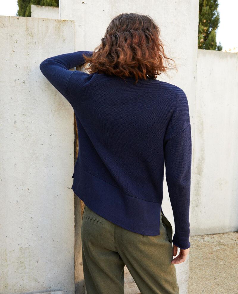 Cardigan mit Reißverschluss Navy blazer Ifulie
