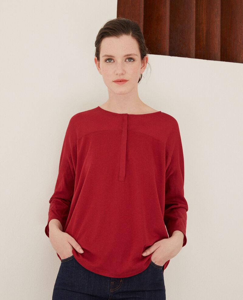 T-Shirt aus Bimaterial Rio red Genious