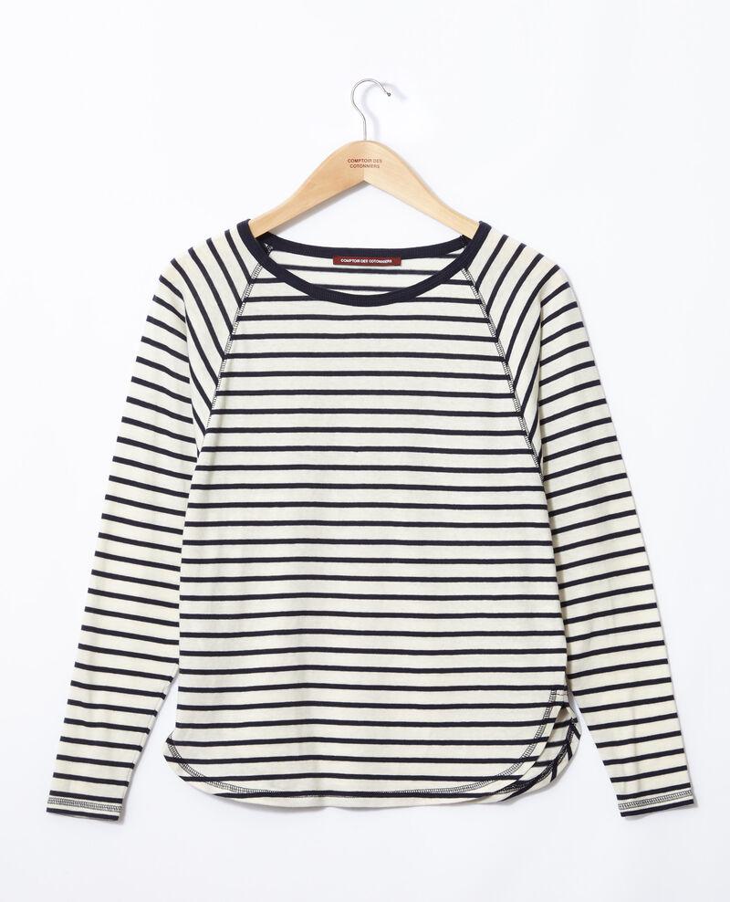 Matrosen-T-Shirt Weiß Gainde