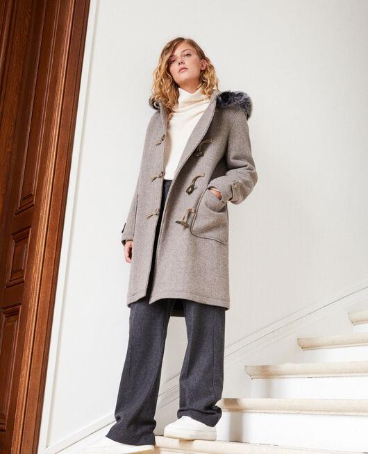 Mantel im Dufflecoat-Stil GREY/BEIGE