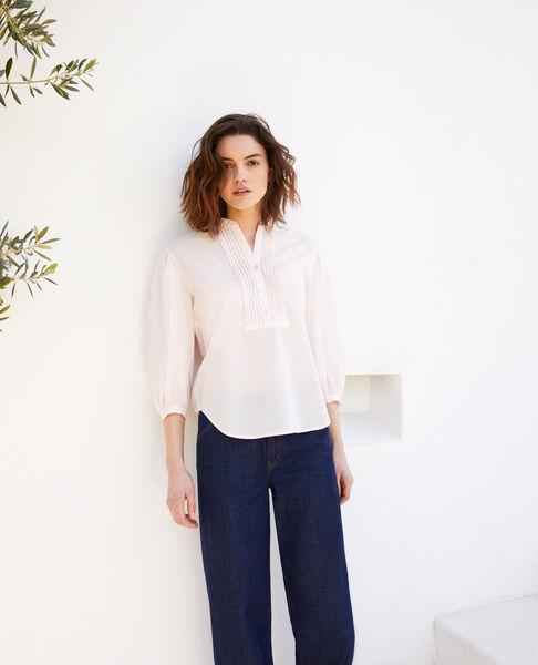 Comptoir des Cotonniers - bluse mit plastron - 1