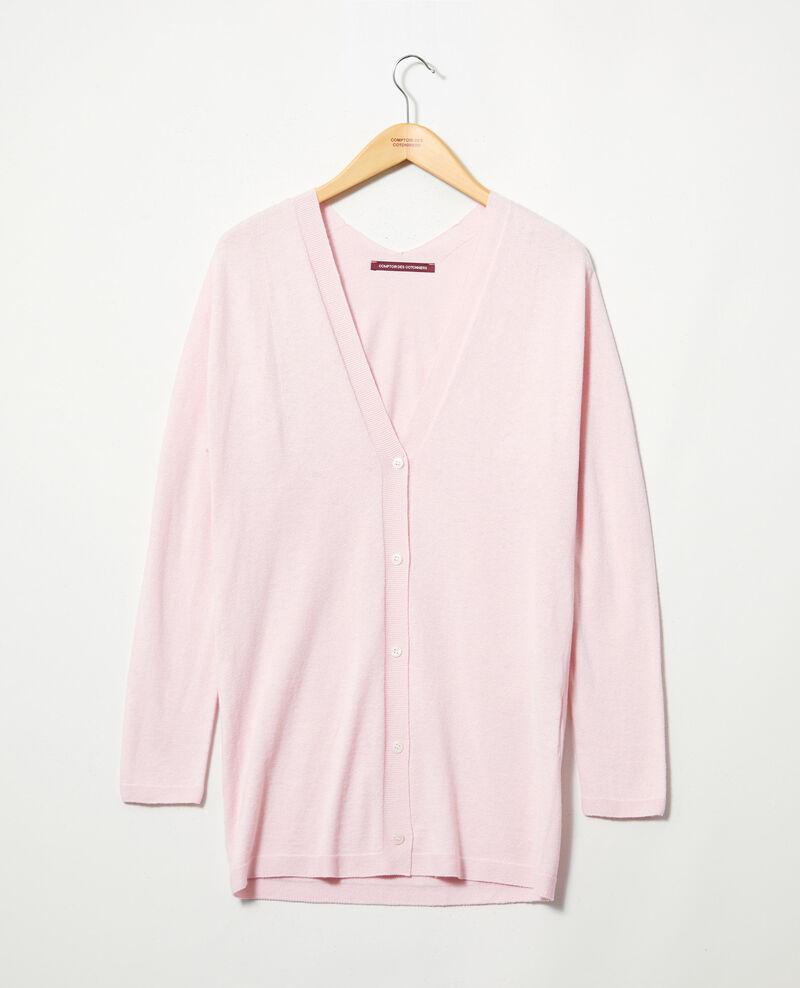 Langer Cardigan Pink icing Ipatique