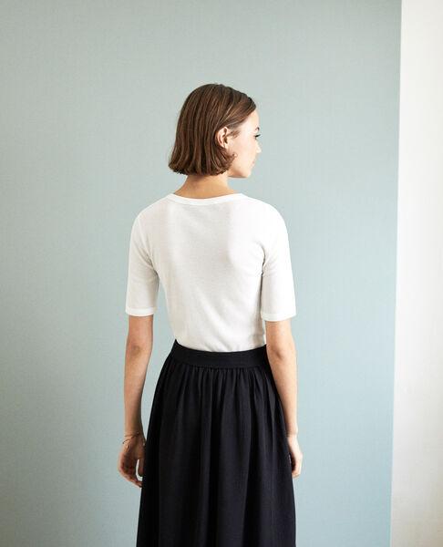 Comptoir des Cotonniers - rippstrick-t-shirt - 3