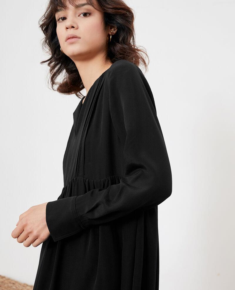 Seidenkleid Noir Fomme