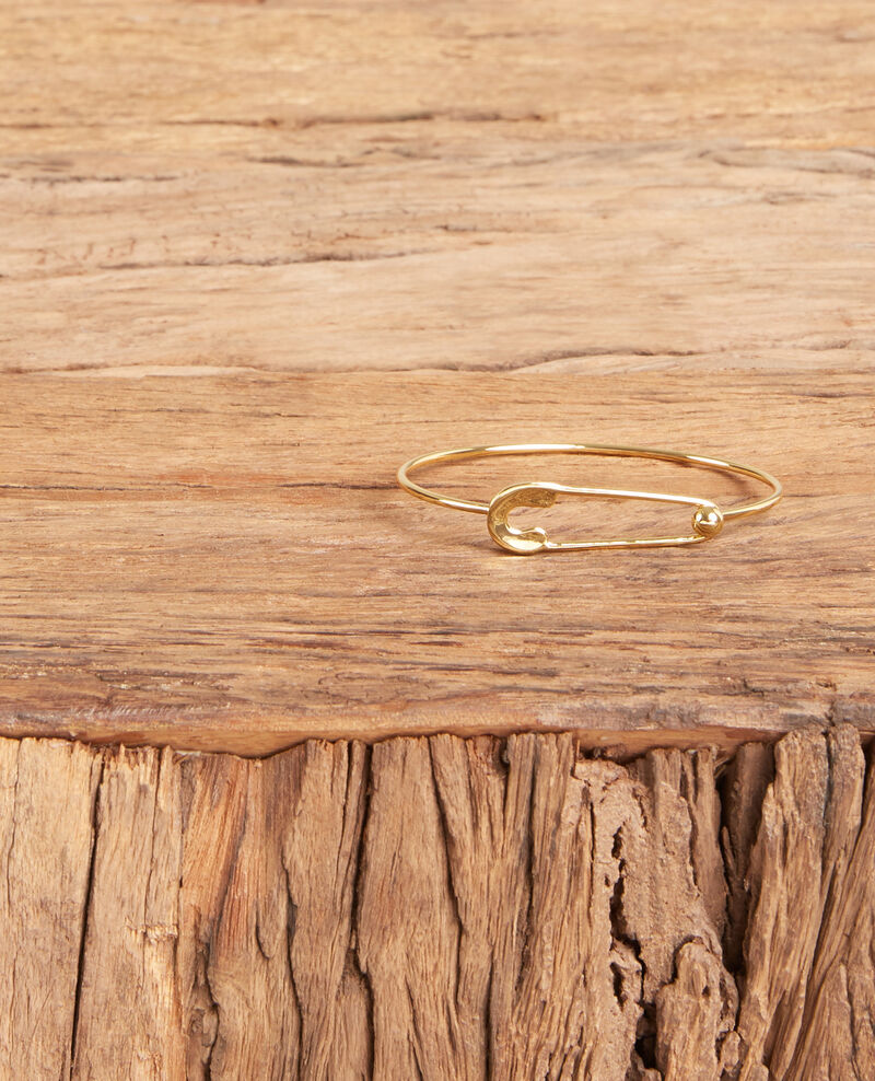 Sicherheitsnadel-Armband Gold Formidable
