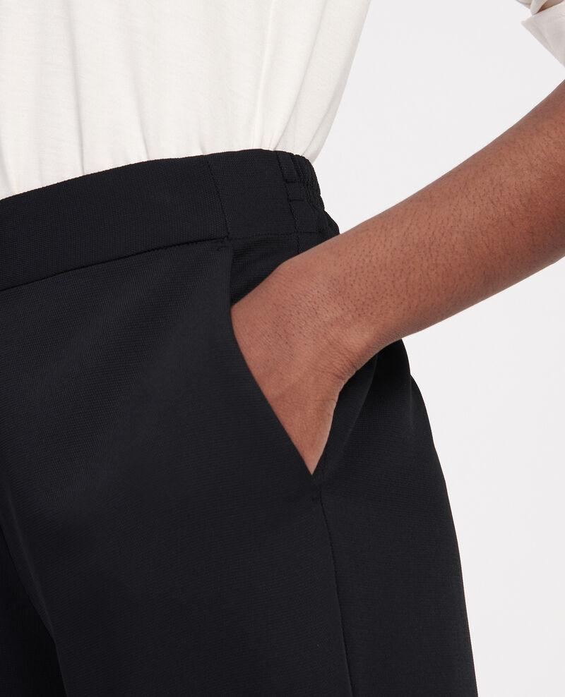 Gerade geschnittene Hose Black beauty Luant