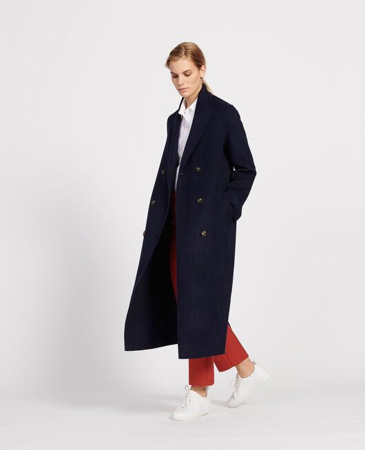 Langer Mantel MARITIME BLUE