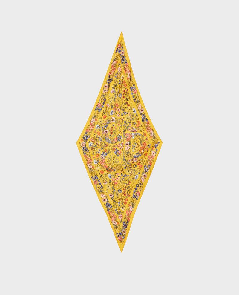Seidentuch in Diamantform Spectra yellow Nage