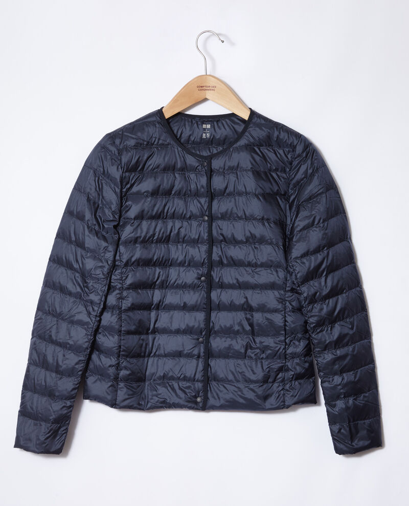 Ultra light Daunenjacke mit Rundkragen Blau Fildown