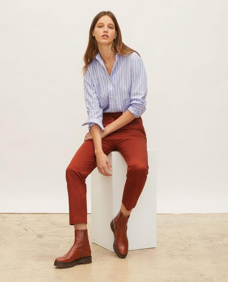 Boyish Bluse aus Baumwolle Popeline stripes Lynde