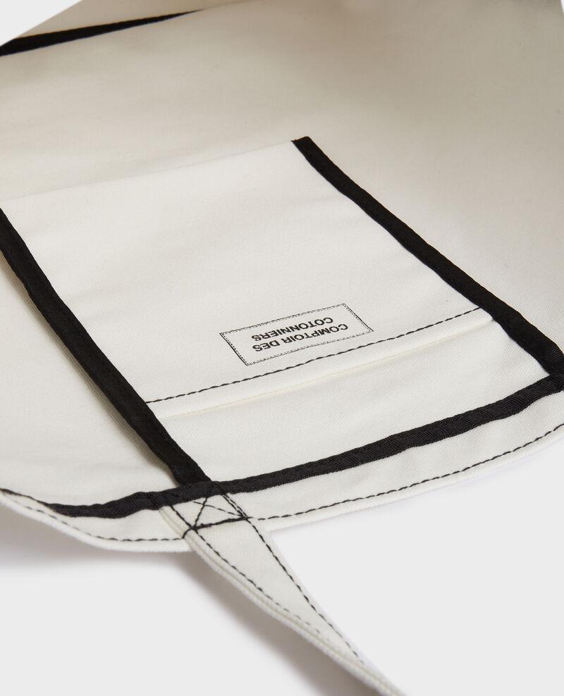 Tasche aus gemustertem Segeltuch Black beauty Macao