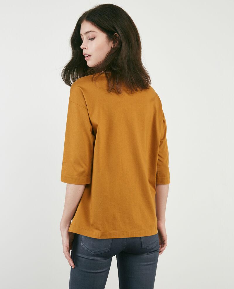 T-Shirt mit halblangen Ärmeln Curcuma Dimac