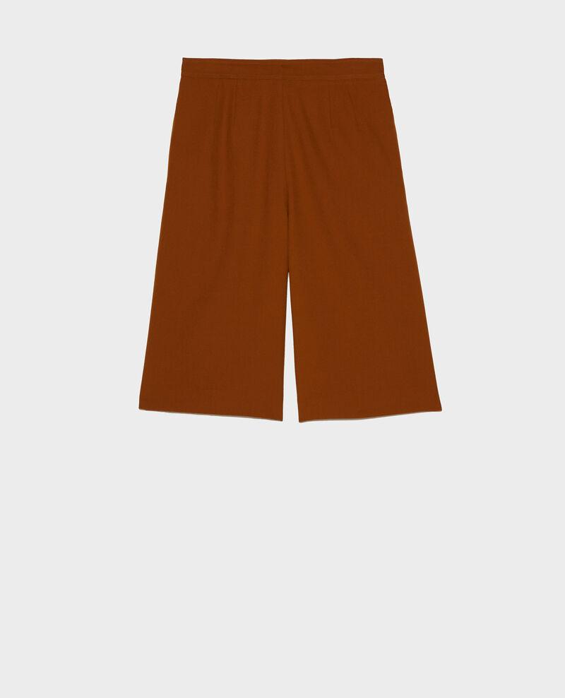 Bermudashorts aus glatter Wolle Monks robe Lancelou