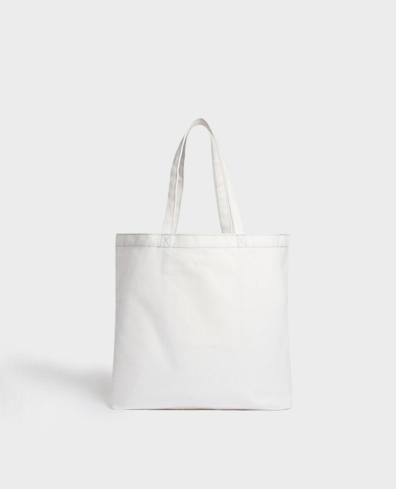 Tasche aus gemustertem Segeltuch Forget me not Macao