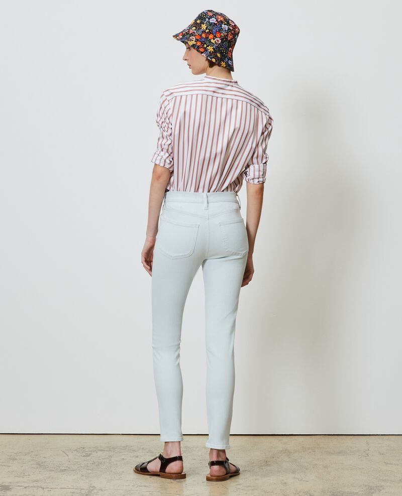 DANI - SKINNY - Jeans mit hoher Taille Bleach blue Naira 1