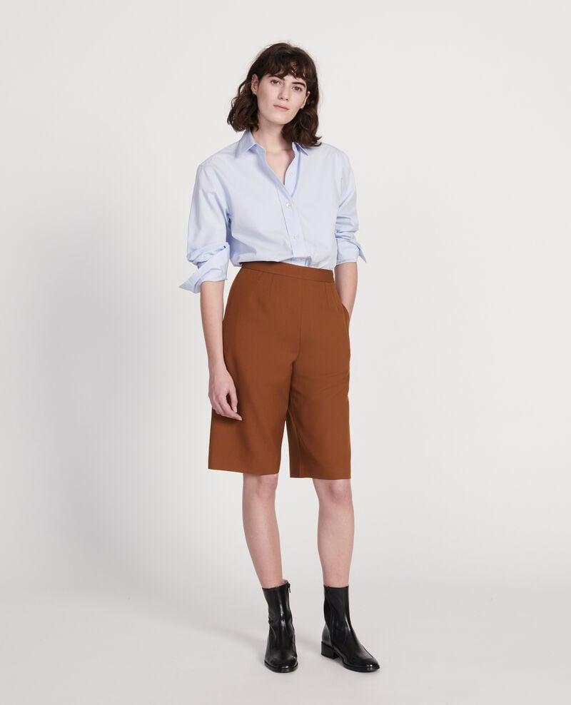 Klassische Bluse aus Popelin Heather Lynda
