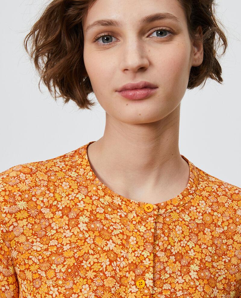 Bluse mit Blumenmuster Garden yellowflame Ninu