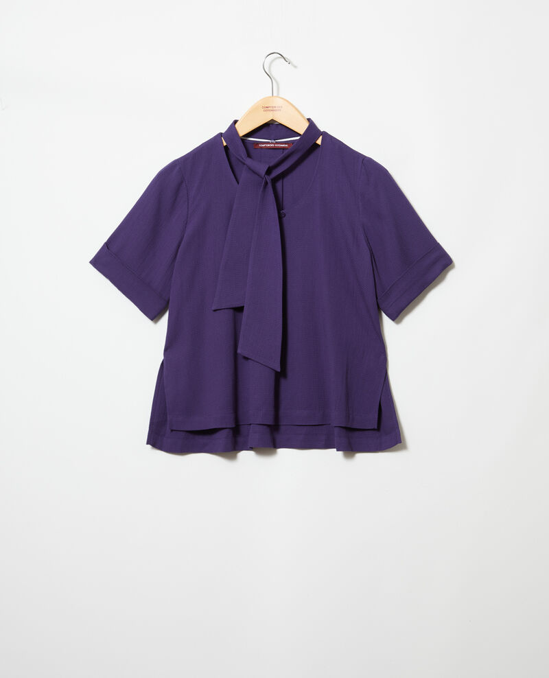 Bluse mit abnehmbarem Band Ink navy Ipex