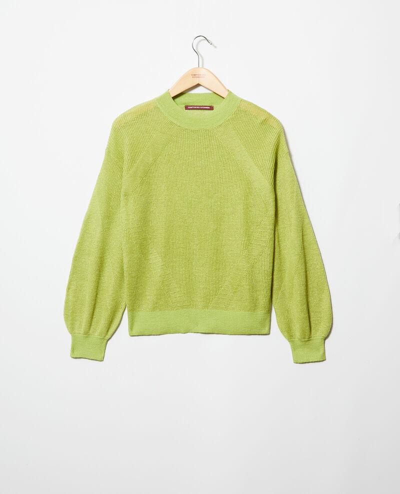 Pullover mit Stehkragen Lime green Icote