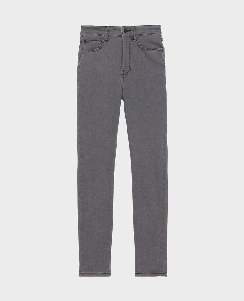 DANI - SKINNY - 5- Pocket-Jeans Dark grey Paugrey
