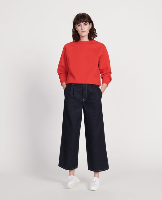 Zeitloses Sweatshirt FIERY RED