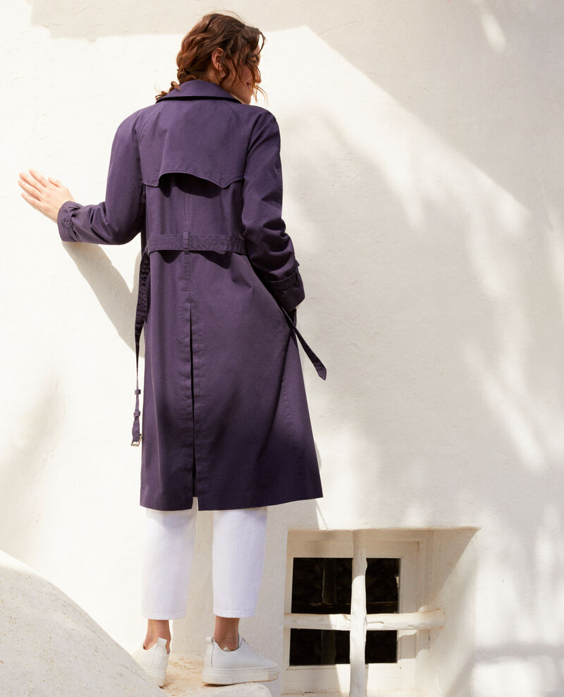 Zeitloser Trenchcoat Ink navy 9illary