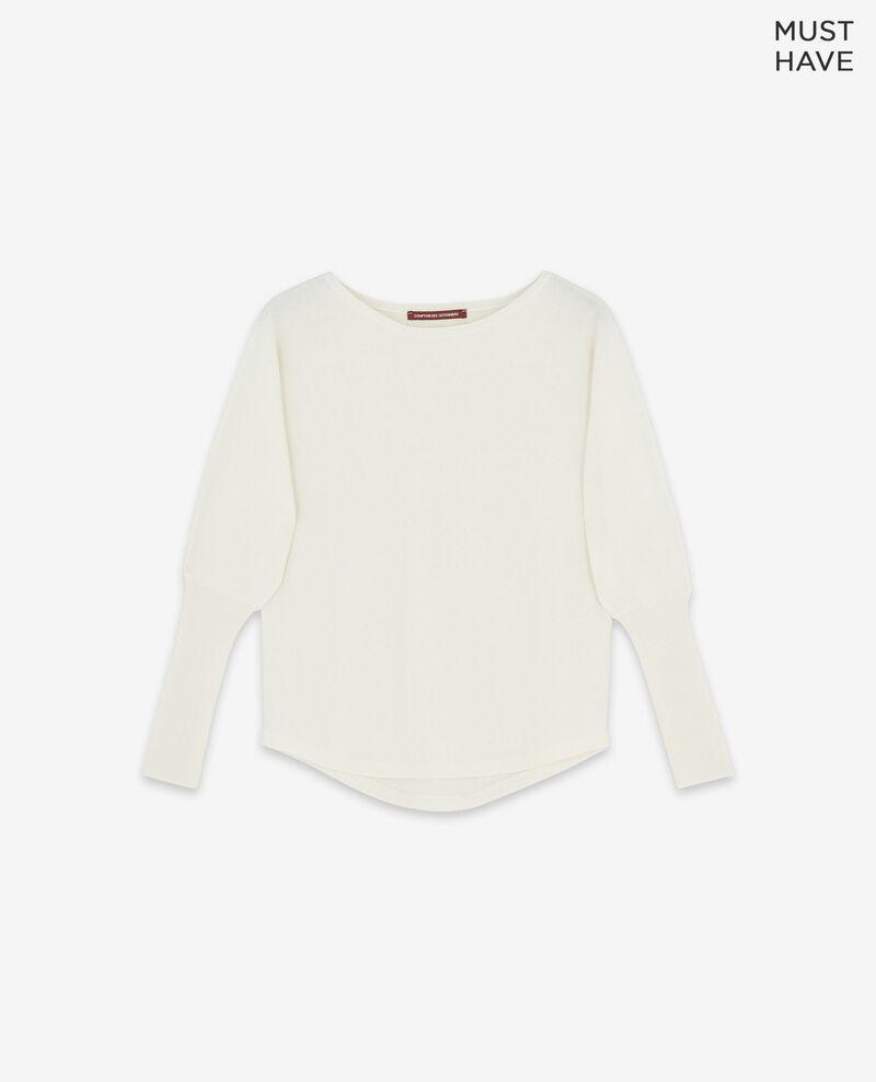 Reiner Kaschmir-Pullover Off white Delamour